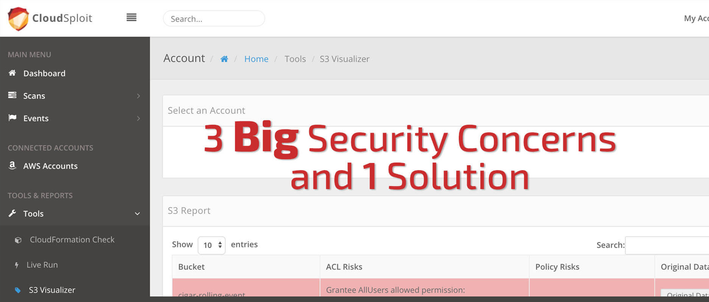 Big Security Concerns Hero Image